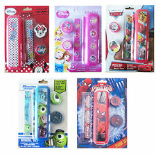 1 x Children's Disney Character 5 Piece Stationery Back to School Sets