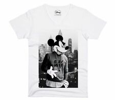 Eleven Paris - Disney Mickey Mouse Herren T-Shirt - Stay Here  (S-XL)