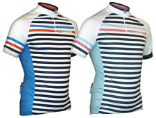 Impsport Rouleur Blue & White Striped Cycling Jersey Mens & Ladies Sizes BNWT