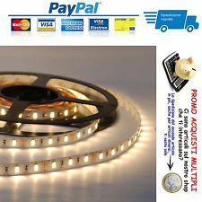 5 METRI STRISCIA A LED SMD 5050 Strip Light BOBINA LUCE BIANCA CALDA IP65