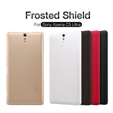 *Original*NILLKIN Super Frosted Shield Back Cover Case For Sony Xperia C5*