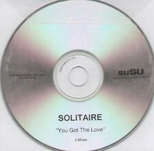SOLITAIRE - You Got The Love (3 Mixes) - 2005 Susu - CD, Maxi-Single