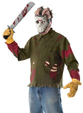 Jason Voorhees Friday the 13th Halloween Adults Fancy Dress Costume 15806 + MASK