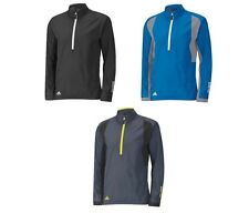 ADIDAS GOLF PACLITE GORETEX 1/2 ZIP  WATERPROOF JACKET (VARIOUS COLOURS & SIZES)