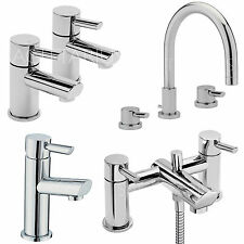 SAGITTARIUS ROCCO BATHROOM TAPS CHROME MIXER BASIN BATH SHOWER FILLER SINK LEVER