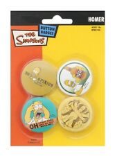 The Simpsons Homer Buttons Packung