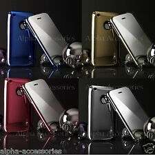 Fashionable Glossy Chrome Finished Hard Back Case Cover for iPhone 3G 3GS