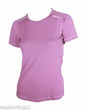 NEW Peak Performance Womens Pink Esquela Sports Active Stretch T-Shirt RRP £50