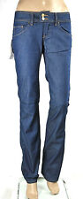 Jeans Donna Pantaloni MET Made in Italy Regular Fit Trousers C452 Tg da 25 a 33