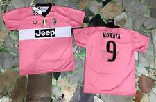 maglia juventus ufficiale MORATA 9 2015/2016 official JERSEY juve AWAY ROSA PINK