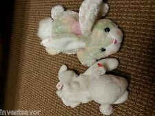 Lot of 2 vintage stuffed animals - See Photo - Very Cute