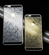 NEW 3D DIAMOND Front + Back Color Tempered Glass Screen Guard for Apple iPhone