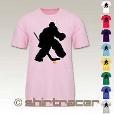 F140K Kinder T Shirt - Sport Kind - Eishockeytorwart Towart Eishockey