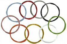 Mountain Bike Gear Cable Teflon Coated Stainless Steel 10 Colours, Rear or Front