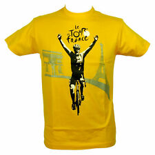 Le Tour de France - T-Shirt 'Arrivée du Tour de France' Officiel - Jaune