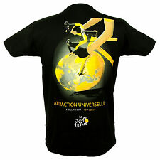 Le Tour de France - T-Shirt Tour de France 'Attraction Universelle' - Noir
