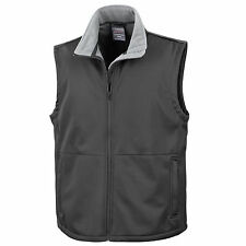Result Womens Mens Unisex Waterproof Softshell Bodywarmer Sleeveless Jacket