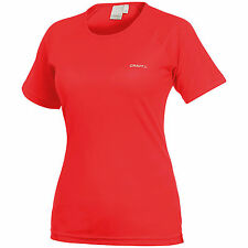 Craft CT21F Womens Active Sports Fitness Running Tee Shirt Polyester Top