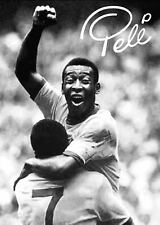 PELE - Brazil Football Poster Picture Print Sizes A5 to A3 **FREE DELIVERY**