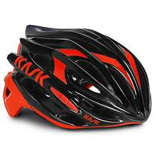 KASK Mojito 16 Road Cycling Helmet - Black/Red (2016)