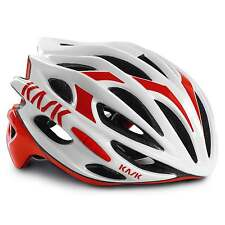 KASK Mojito 16 Road Cycling Helmet - White/Red (2016)