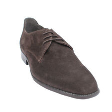 Salt N Pepper 16-189 Figo Brown Suede Leather lace up Shoes