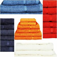 Egyptian Cotton Towels Set Bath Sheet Bale Hand Large 100% Luxury Soft
