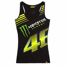 Official Valentino Rossi VR46 Monza Monster Tanque De Womans Top. MOWTT 1480 04