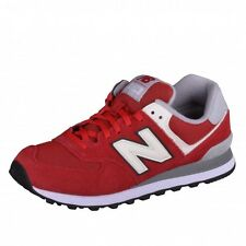 New Balance 574 Classics Traditionnels Runner Sneaker weiß rot grau ML574VAA