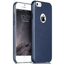 Premium Ultra Thin Leather finish Soft TPU back case cover For iPhone 5/5s