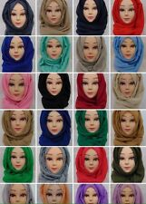 Plain Maxi Hijab Glitter Hijab& Ombre Hijab Scarves 1pc viscose #haquecollection