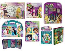 DISNEY FAIRIES COLOURING & ART SETS (Girl Arts/Crafts/Drawing)