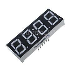0.56'' 7 Segment 4 Stelligen Digits LED Display Rot Anode Time 12 pins Anzeige