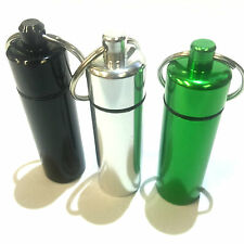 Larger Bison Tube Geocache Container Water Tear & Grease Proof Log 3 Colours