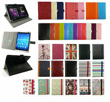 Universal Wallet Case Cover Stand fits Vexia Zippers Tab 7i 3G Tablet 7 Inch