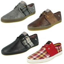 Herren Base London Fisch 'N Chips Schuhe Label Spam 2
