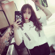 2016 summer new short-sleeved T-shirt Korean Harajuku style letters dimensional