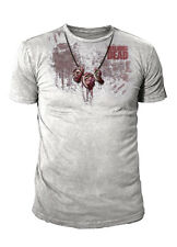 The Walking Dead - Dixon Ear Necklace Herren T-Shirt Hellgrau (Gr.S -XL)