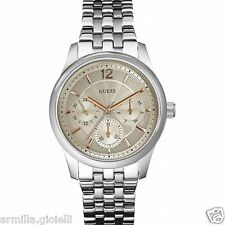 OROLOGIO GUESS WATCHES UOMO CRONOGRAFO ASSET W0474G2 Chaser Steel Acciaio New
