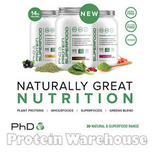 PhD Protein Super Food 500 g Natural Nutrition Greens Wholefood Blend Protein
