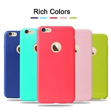 *Candy Colors*Ultra Thin Soft Cover Case For Apple iPhone 6/6S *