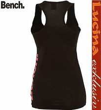 Neu Bench Womens Volley Vest Top Tank  Shirt schwarz  Gr.XS, S,M,L,XL.