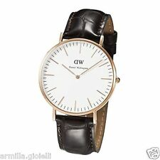 OROLOGIO DANIEL WELLINGTON 40mm 0111DW York Rose Gold Oro Rosa Uomo Man Marrone