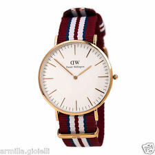 OROLOGIO DANIEL WELLINGTON 40mm 0112DW Exeter Rose Gold Oro Rosa Uomo Man
