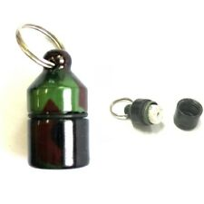 Nano Bison Tube Geocache Container Water Tear & Grease Proof Log