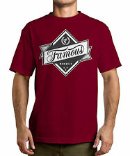 FAMOUS STARS AND STRAPS FSAS [IN THE ROUGH] T-SHIRT TATTOO INK SKATE BIKER   Fam