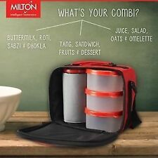 New Milton Smart Insulated Tiffin / Lunch Box With Water Glass @ Best Price.!