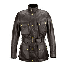 Belstaff Classic Tourist Trophy Mahogany Motorcycle Waxed Cotton Jacket All Size