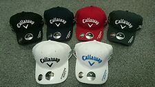 BRAND NEW 2016 CALLAWAY GOLF TOUR CAP ODYSSEY CHROME SOFT XR GBB LOGOS