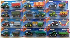 SIKU 1:87 Scale Blister Carded MINIATURE Farm TRACTORS + TRAILERS or ACCESSORIES